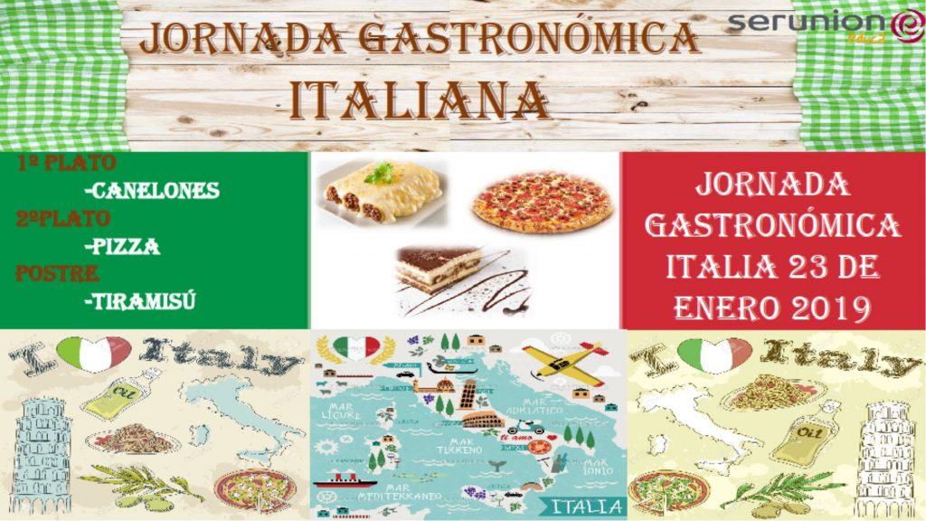 Jornada gastronomica ITALIA